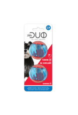 DogIt Duo Ball, 5cm w LED, 2pk