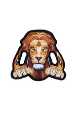 DogIt Growlers Dog Toy - Lion - 25 cm x 24 cm (9.8 in x 9.4 in)