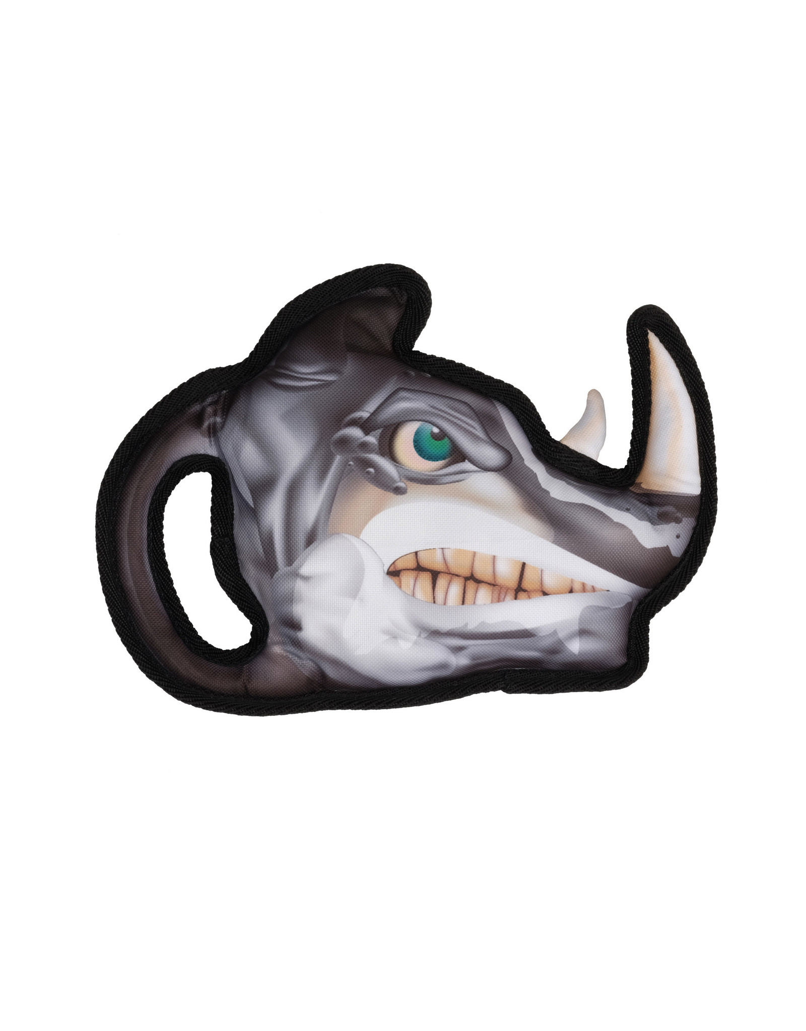 DogIt Growlers Dog Toy - Rhino - 26 cm x 19 cm (10.2 in x 7.4 in)