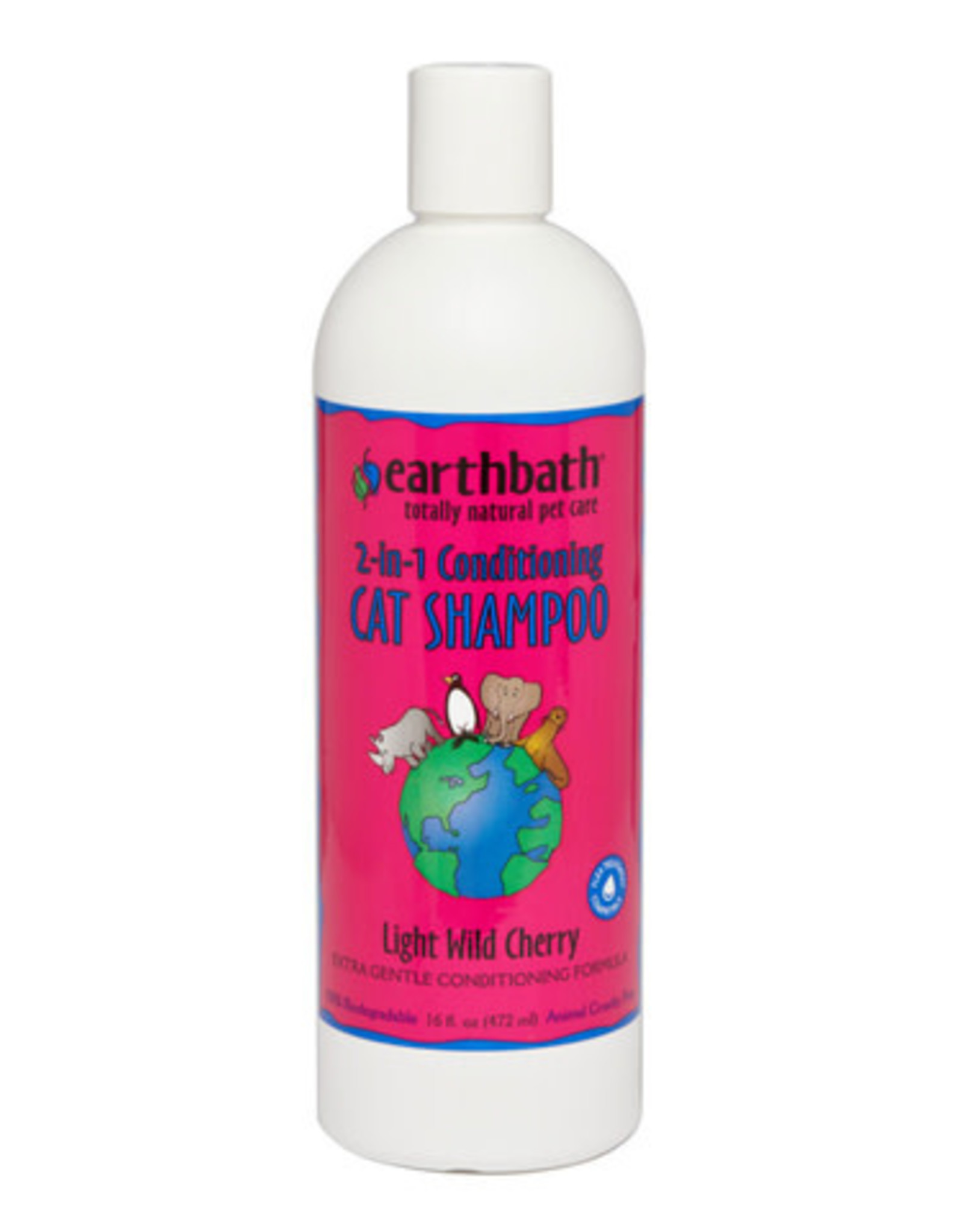 Earthbath 2-IN-1 Conditioning Shampoo For Cats