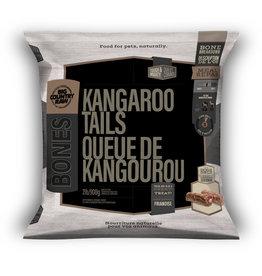 Big Country Raw Kangaroo Tails 2lb Bag