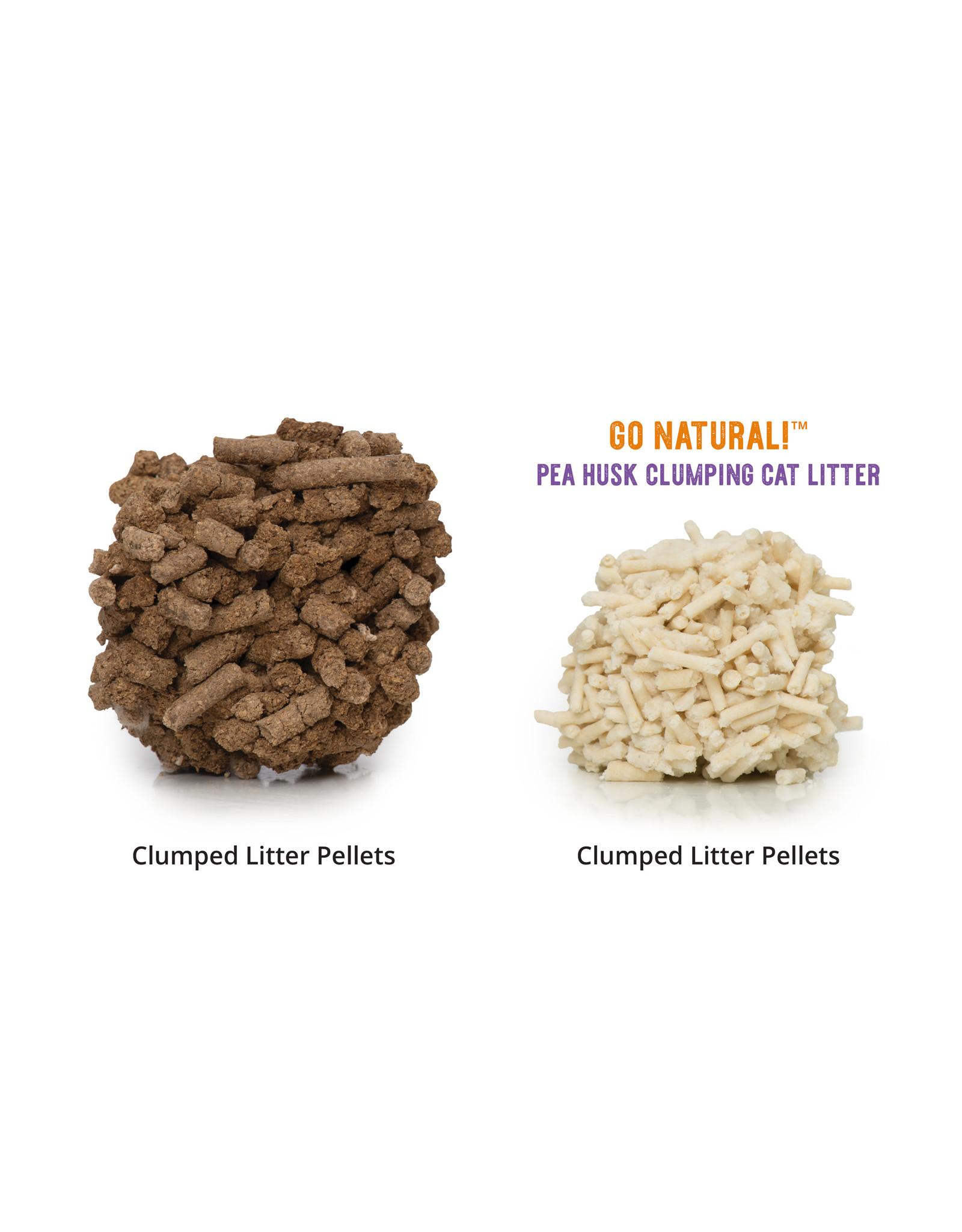 CatIt Go Natural! Pea Husk Clumping Cat Litter - Natural 14L