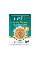 CatIt Divine Shreds - Tuna with Seabream & Wakame - 75g Pouch