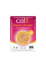 CatIt Divine Shreds - Tuna with Shrimp & Pumpkin - 75g Pouch