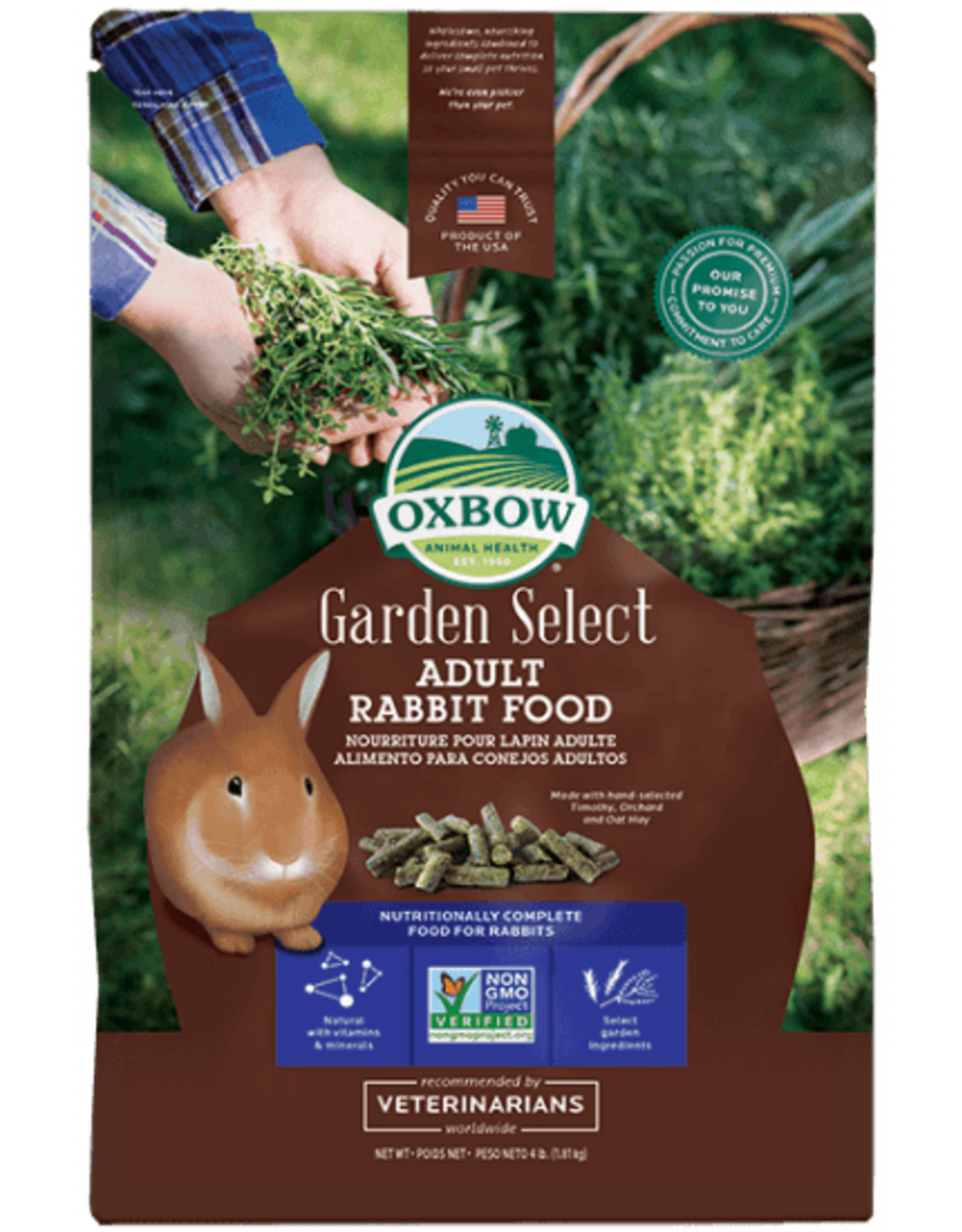 Oxbow Oxbow Garden Select Adult Rabbit 4lb
