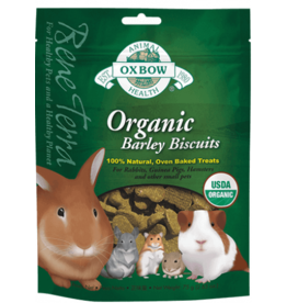 Oxbow Oxbow Organic Barley Biscuits 75g