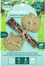Oxbow Oxbow Enriched Life Timothy Apples & Stix