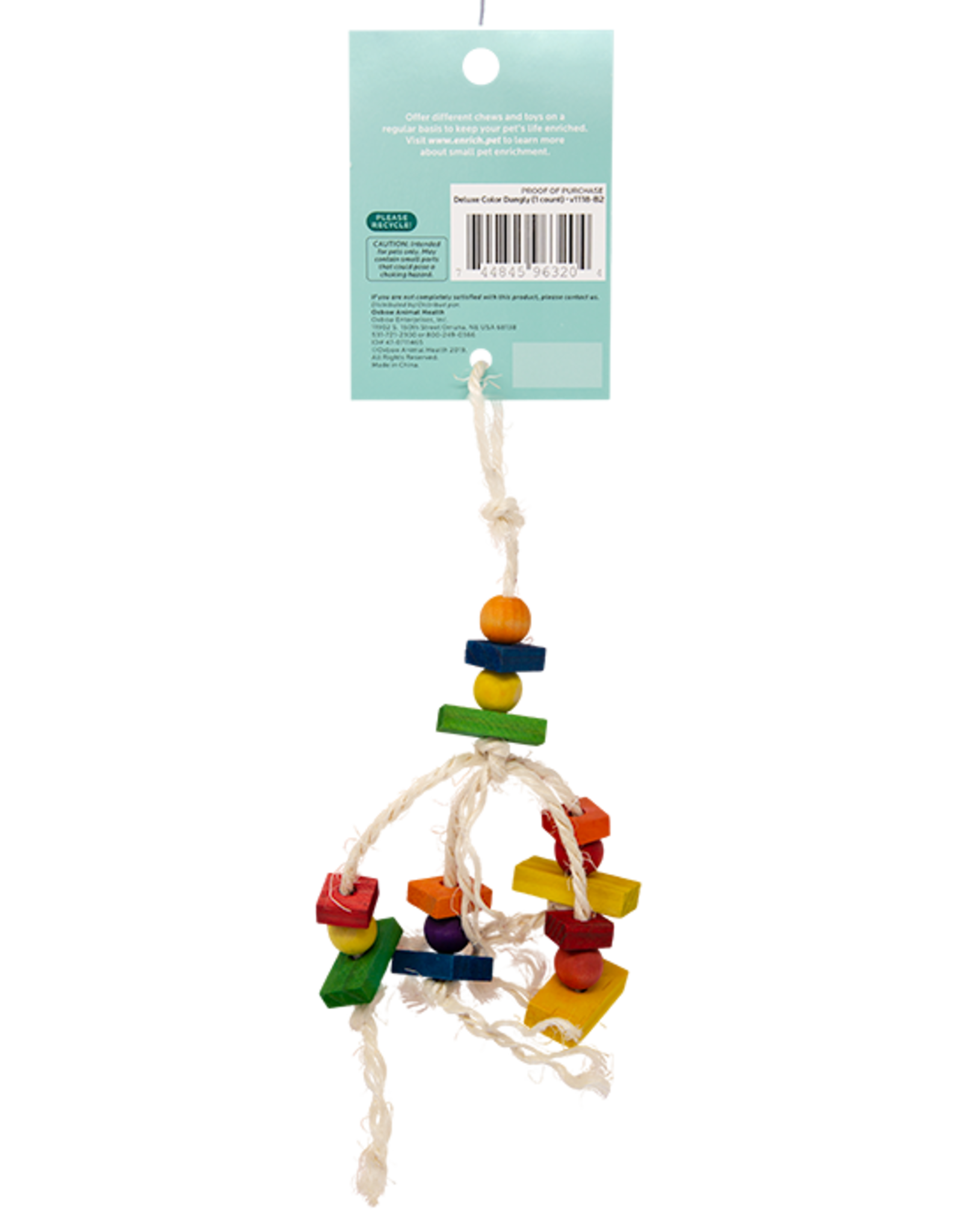 Oxbow Oxbow Enriched Life Deluxe Color Dangly