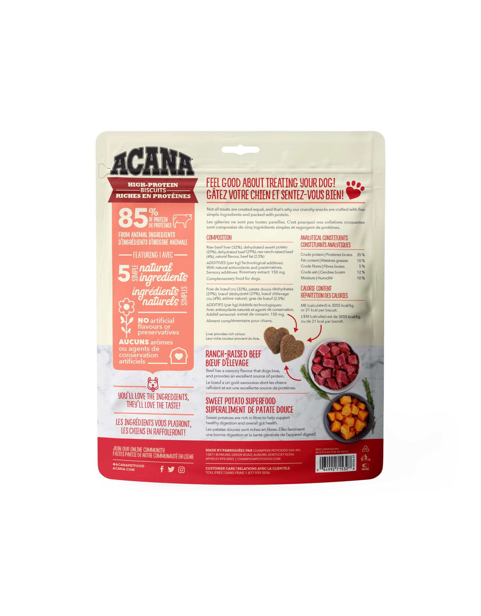 ACANA ACANA High-Protein Biscuits Crunchy Beef Liver