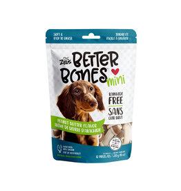 """Zeus Zeus Better Bones Peanut Butter Flavour Bones 3"""" 12 pk"""