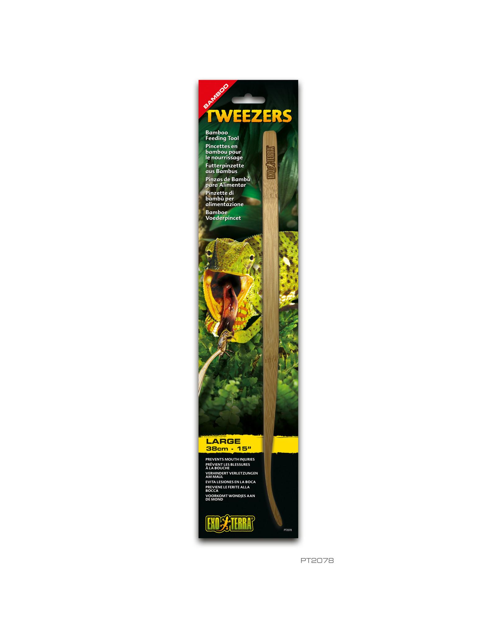Exo Terra Exo Terra Bamboo Feeding Tweezers - Large