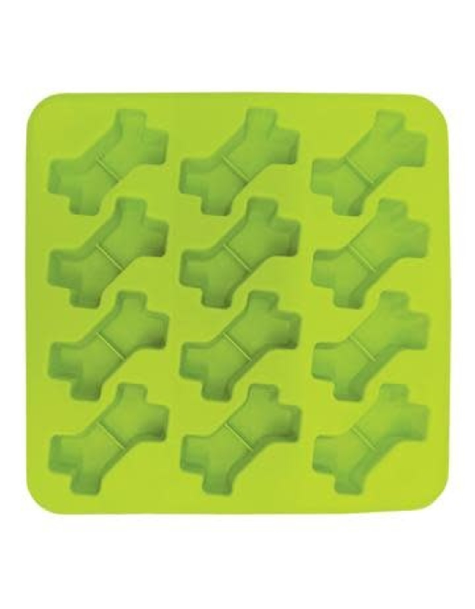 Messy Mutts Messy Mutts Silicone Bake and Freeze Treat Maker 2 Pack - 12 x 1oz Bones