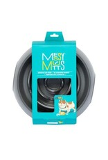 Messy Mutts Messy Mutts Interactive Slow Feeder Cool Grey 3 Cup