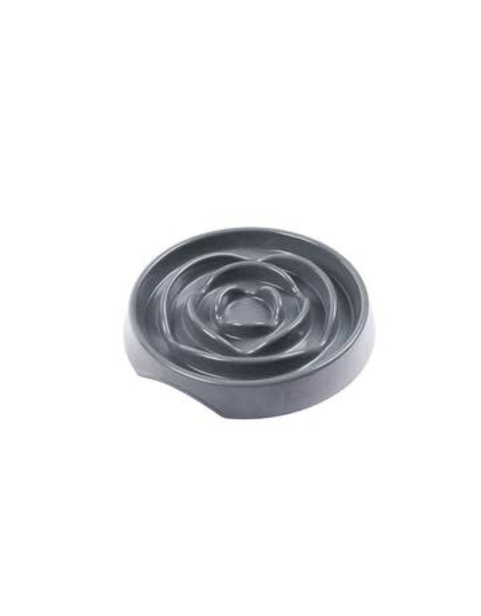 Messy Mutts Messy Mutts Interactive Slow Feeder Cool Grey 1.75 Cup