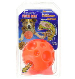 Omega Paw Omega Paw Tricky Treat Ball Small