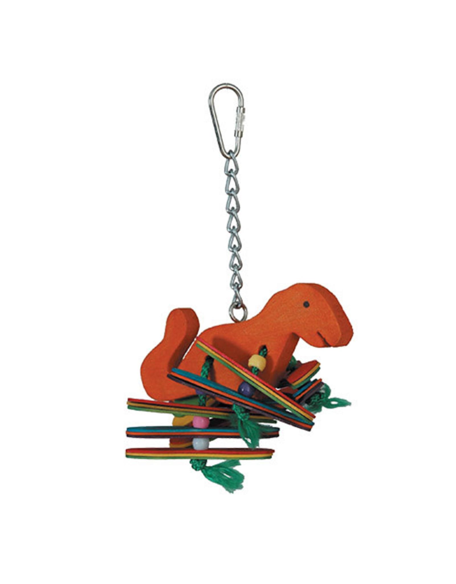 "HERO BIRD HERO BIRD Dinosaur Bird Toy Medium 3""x7"""