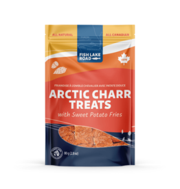 Fish Lake Road Fish Lake Road Arctic Charr with Sweet Potato Fries (Fish 'N Chips) 80g
