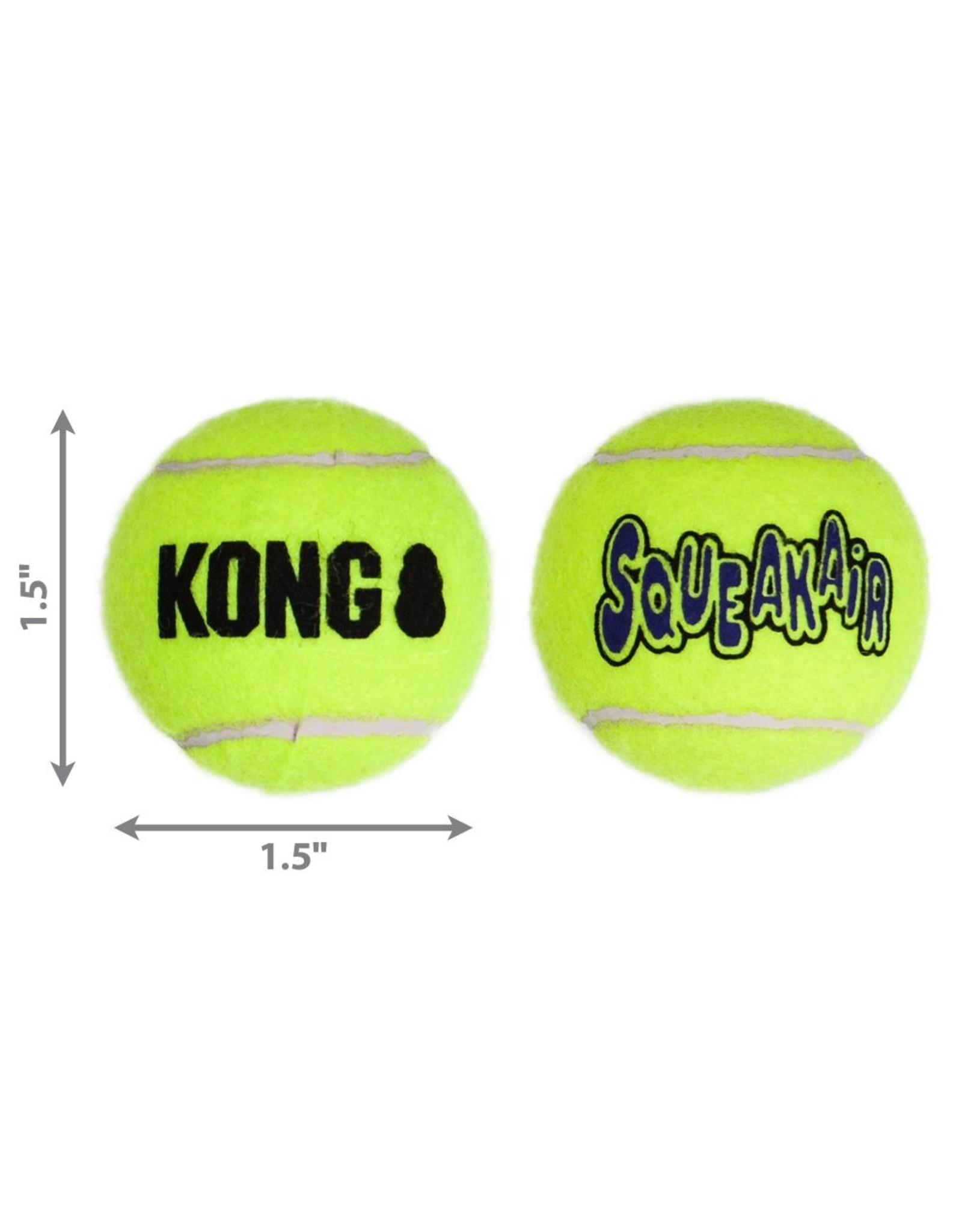 Kong Kong SqueakAir Ball X-Small 3 pk