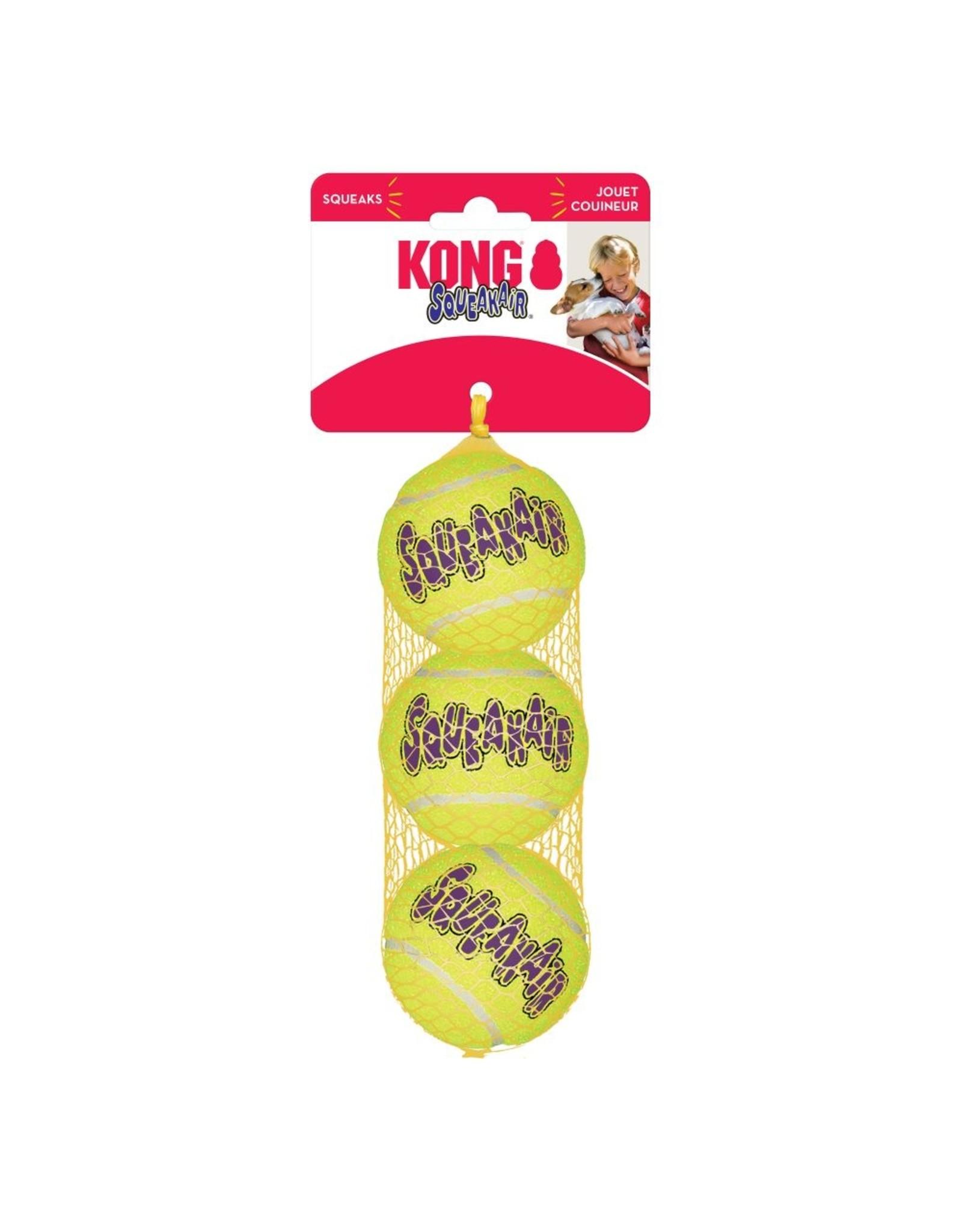 Kong Kong SqueakAir Ball Medium 3 pk