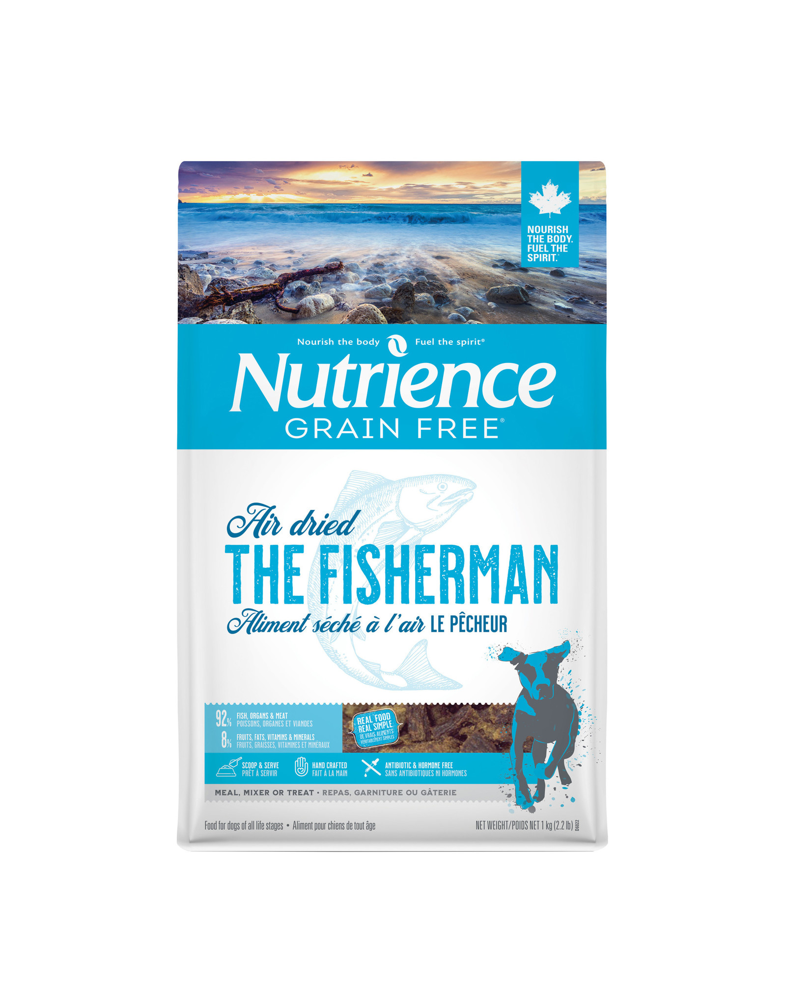 Nutrience Nutrience GF Air Dried For Dogs The Fisherman Fish 1kg (2.2 lb)