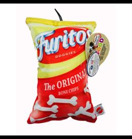 """Spot Spot Fun Food Furitos Chips 8"""" Dog Toy"""