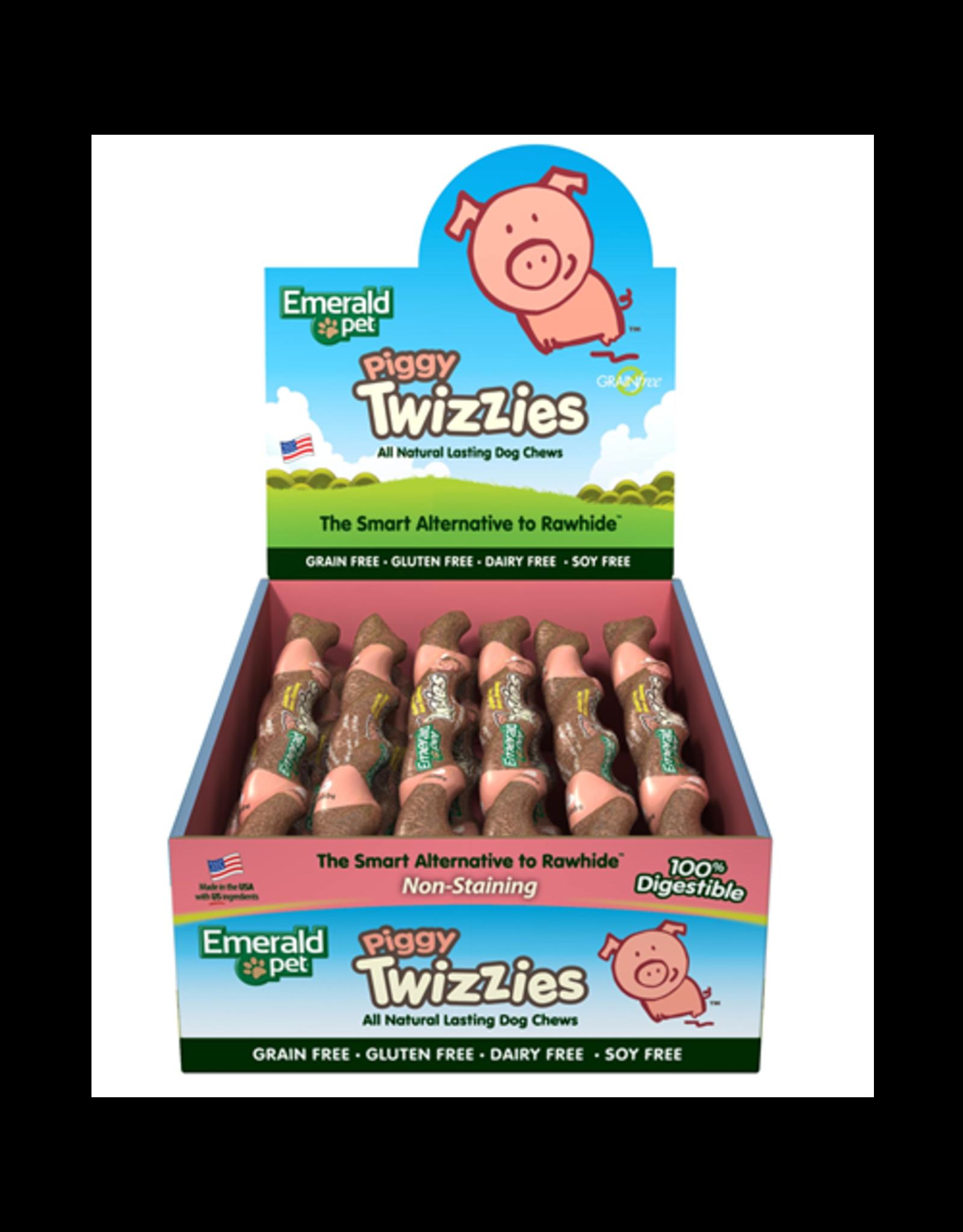 "Emerald Pet Emerald Pet Twizzies Piggy 9"" Singles"