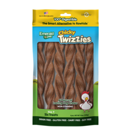 """Emerald Pet Emerald Pet Twizzies Chicky 6 Pack 9"""""""