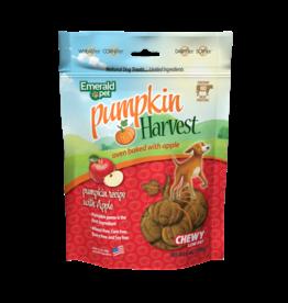 Emerald Pet Emerald Pet Pumpkin Harvest Apple Chewy Dog Treats 6oz
