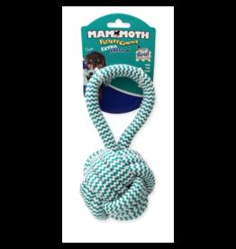 "Mammoth Mammoth Extra Fresh Monkey Fist Ball with Handle 3.75"""