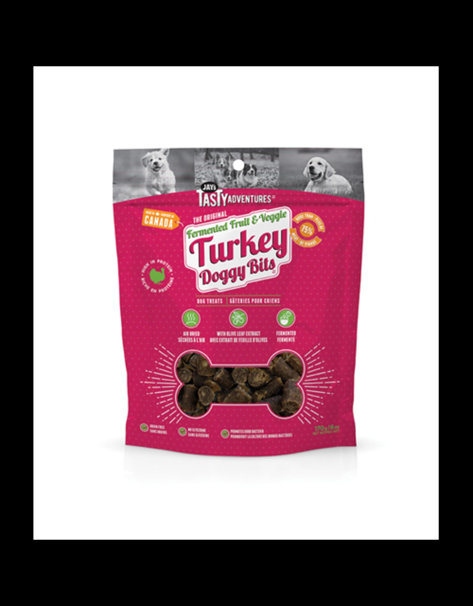 Jay's Tasty Adventures Jays Fermented Fruit & Veggie Turkey Dog Treats 170g