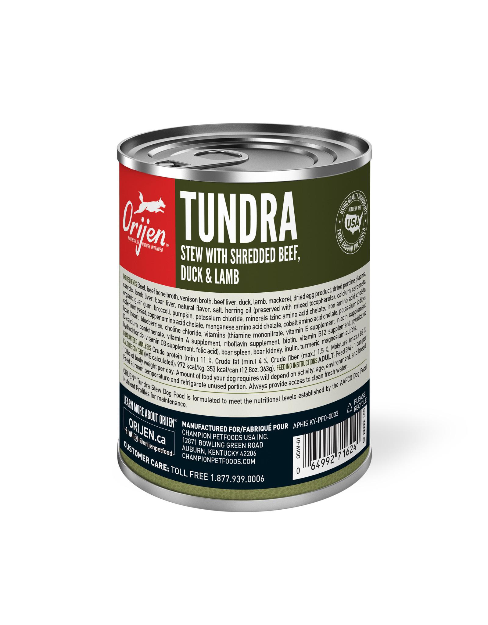 ORIJEN ORIJEN Wet Food Tundra Stew 363g