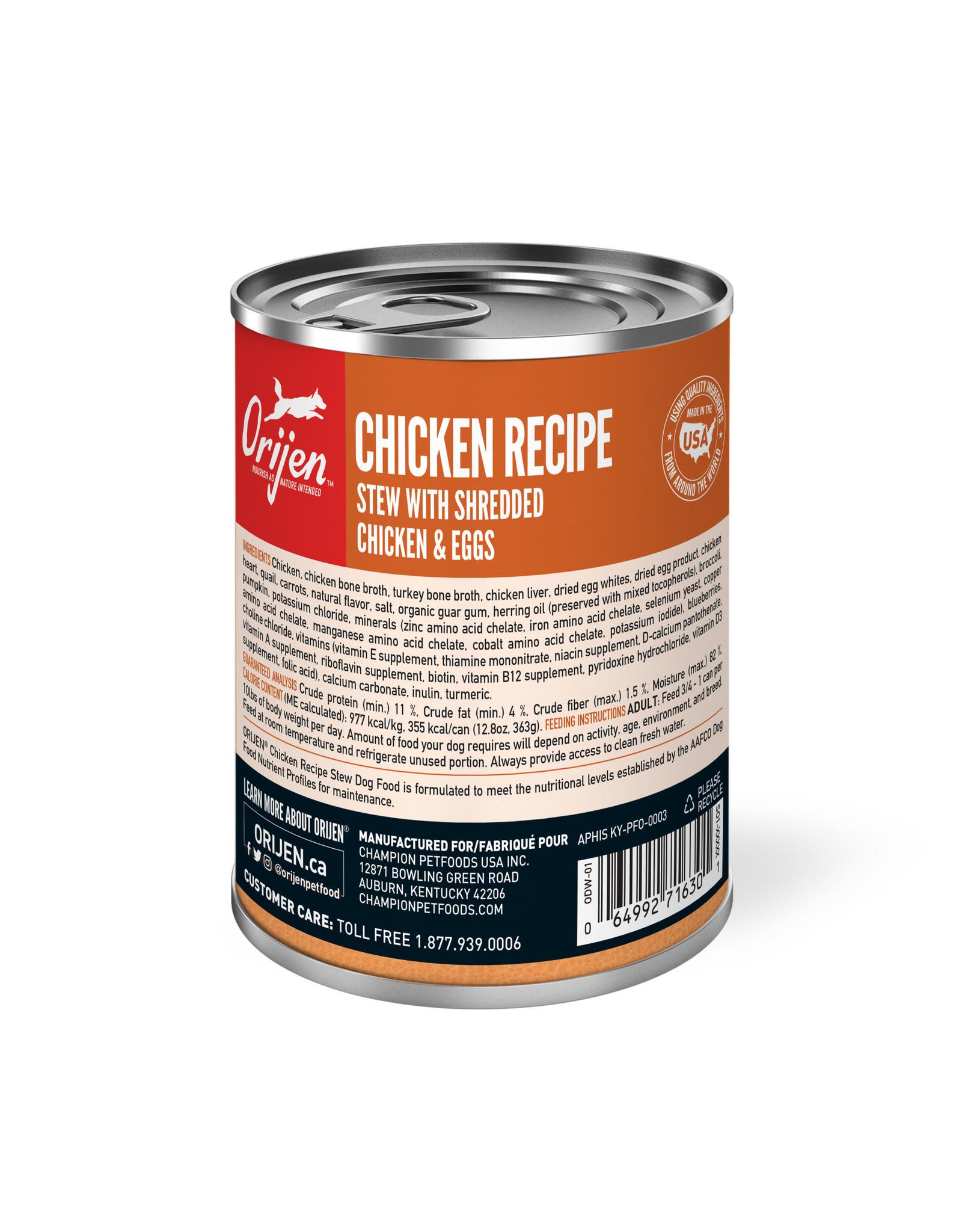 ORIJEN ORIJEN Wet Food Chicken Stew 363g