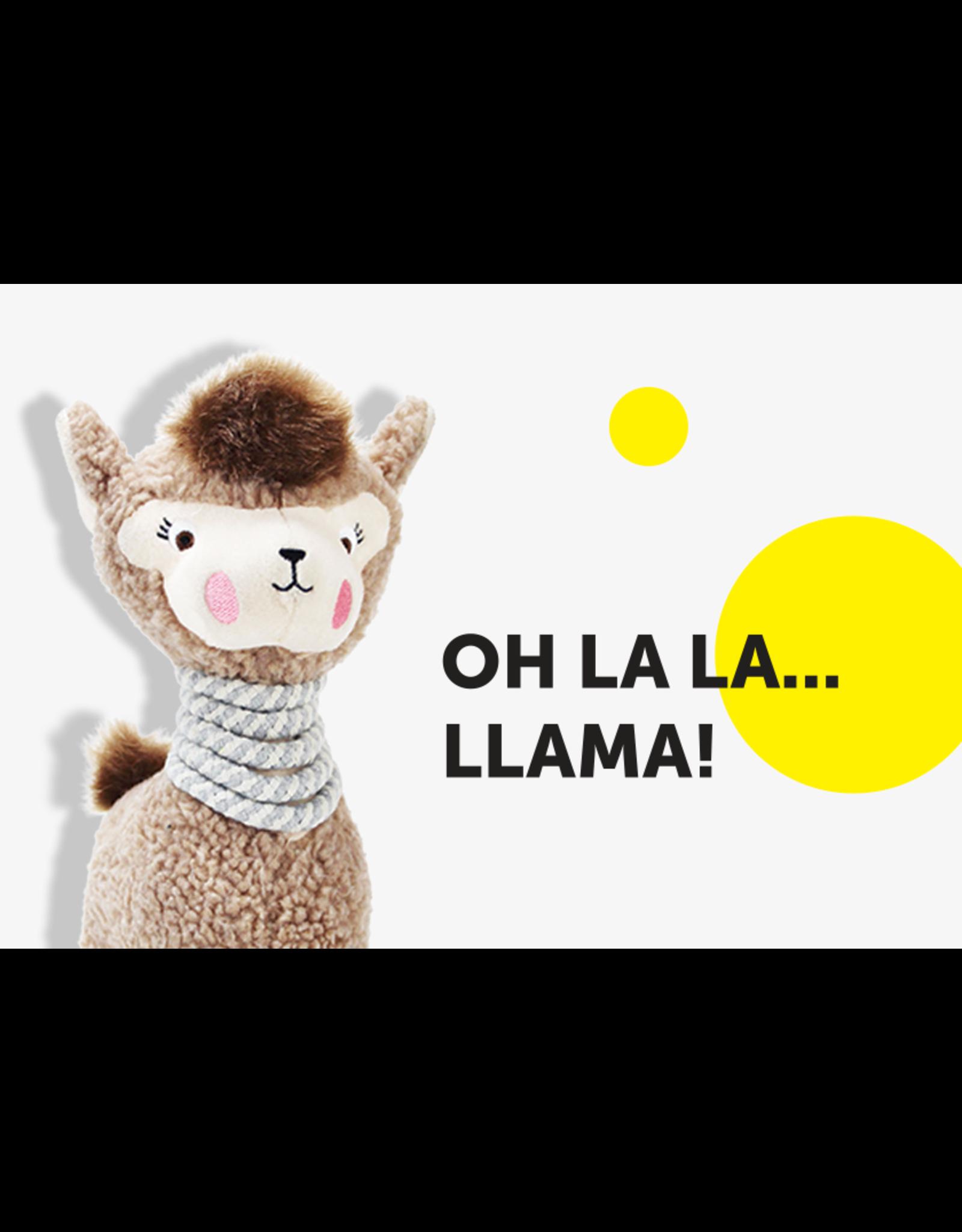 Be One Breed Be One Breed Dog Toy Plush Lola The Llama