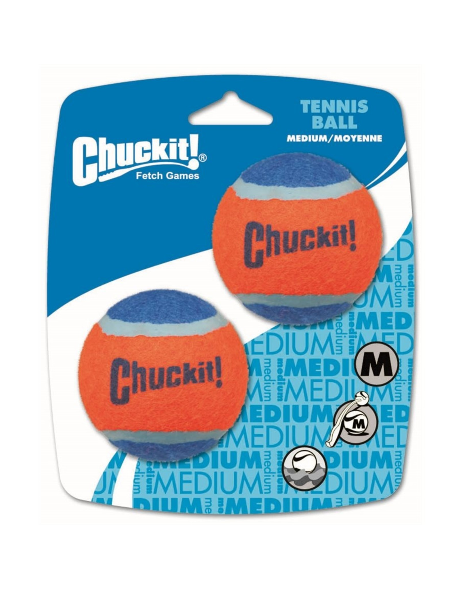 Chuckit! Tennis Balls 2-Pack Medium