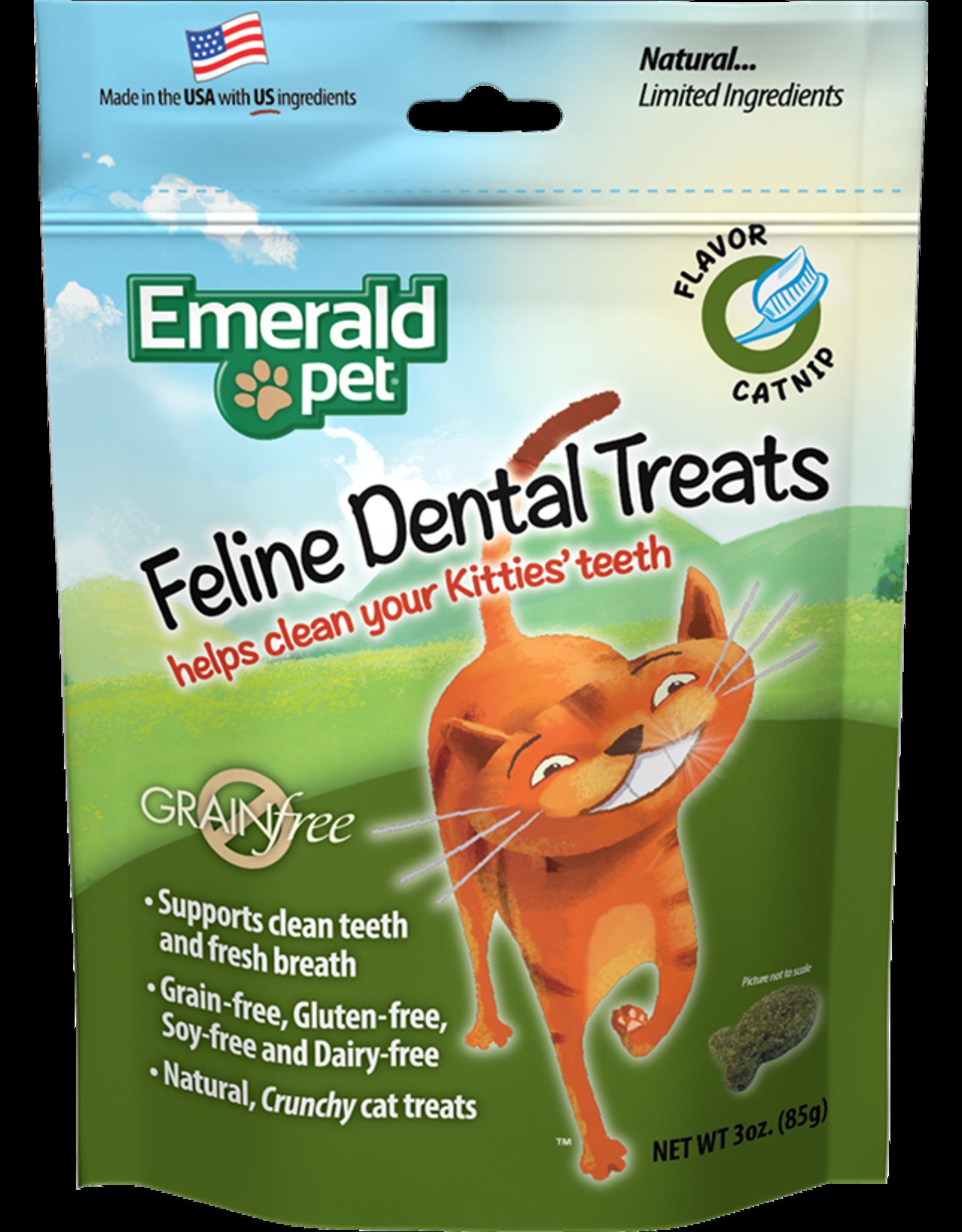 Emerald Pet Emerald Pet Cat Dental Treat Catnip Flavour 85g