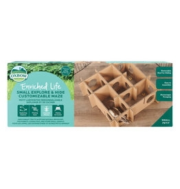 Oxbow Oxbow Enriched Life Explore & Hide Customizable Maze Small