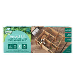 Oxbow Oxbow Enriched Life Explore & Hide Customizable Maze Large