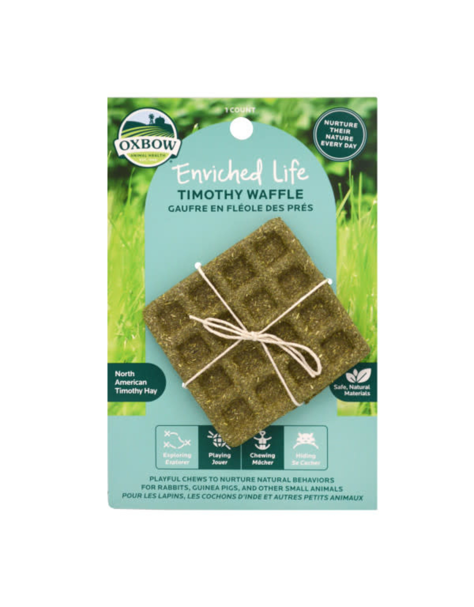 Oxbow Oxbow Enriched Life Timothy Waffle