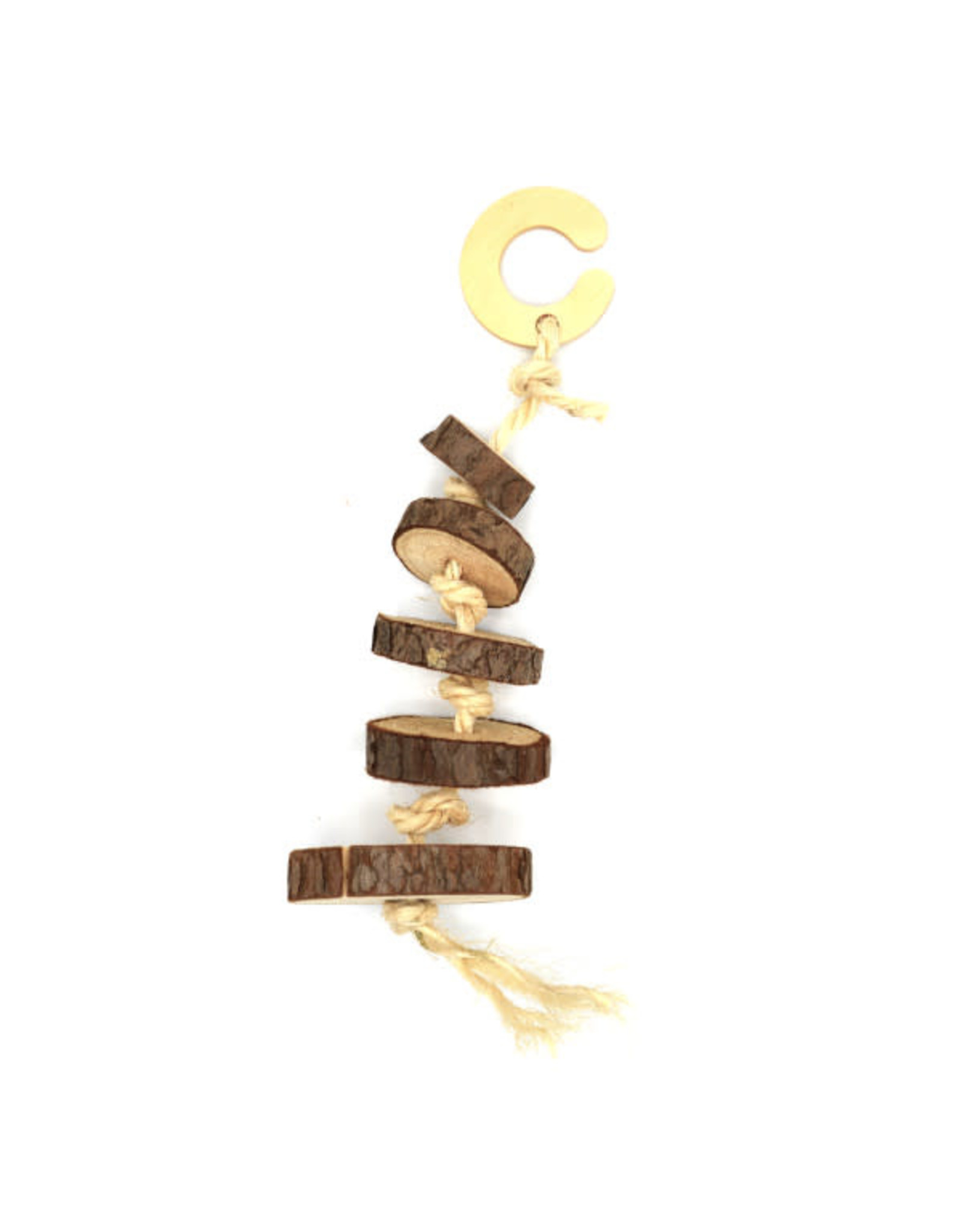 Oxbow Oxbow Enriched Life Wood Disk Dangler