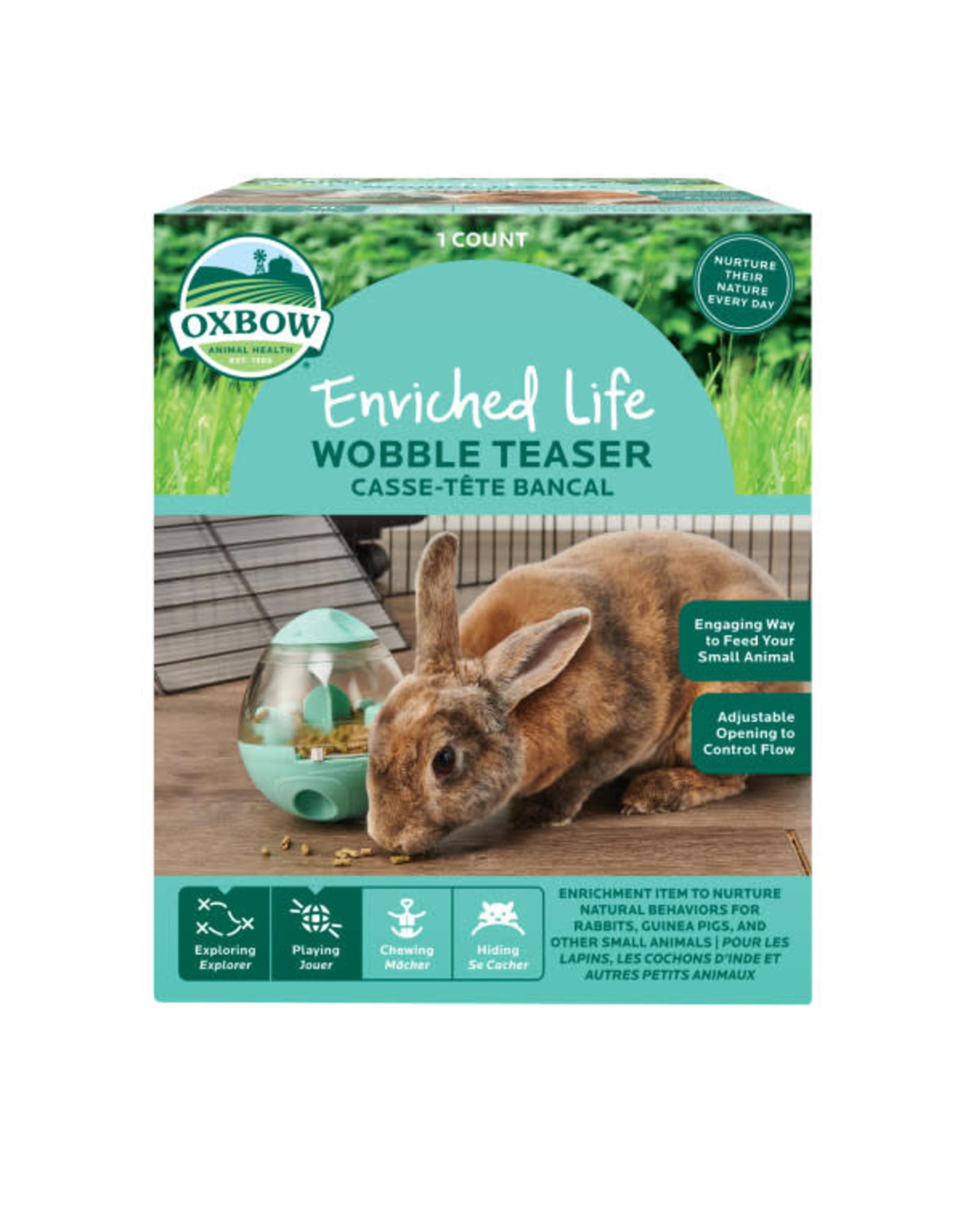 Oxbow Oxbow Enriched Life Wobble Teaser