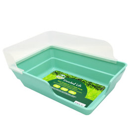 Oxbow Oxbow Enriched Life Rectangle Litter Pan with Removable Shield
