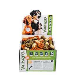 Whimzees Whimzees Brushzees Medium Dental Chew for Dogs