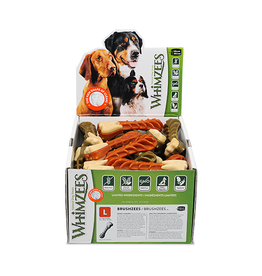 Whimzees Whimzees Brushzees Large Dental Chew for Dogs
