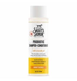 Skout's Honor Probiotic Shampoo & Conditioner Honeysuckle 16oz