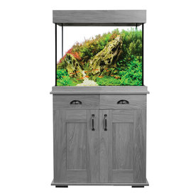 Fluval Fluval Shaker Grey Oak Aquarium Set 168L