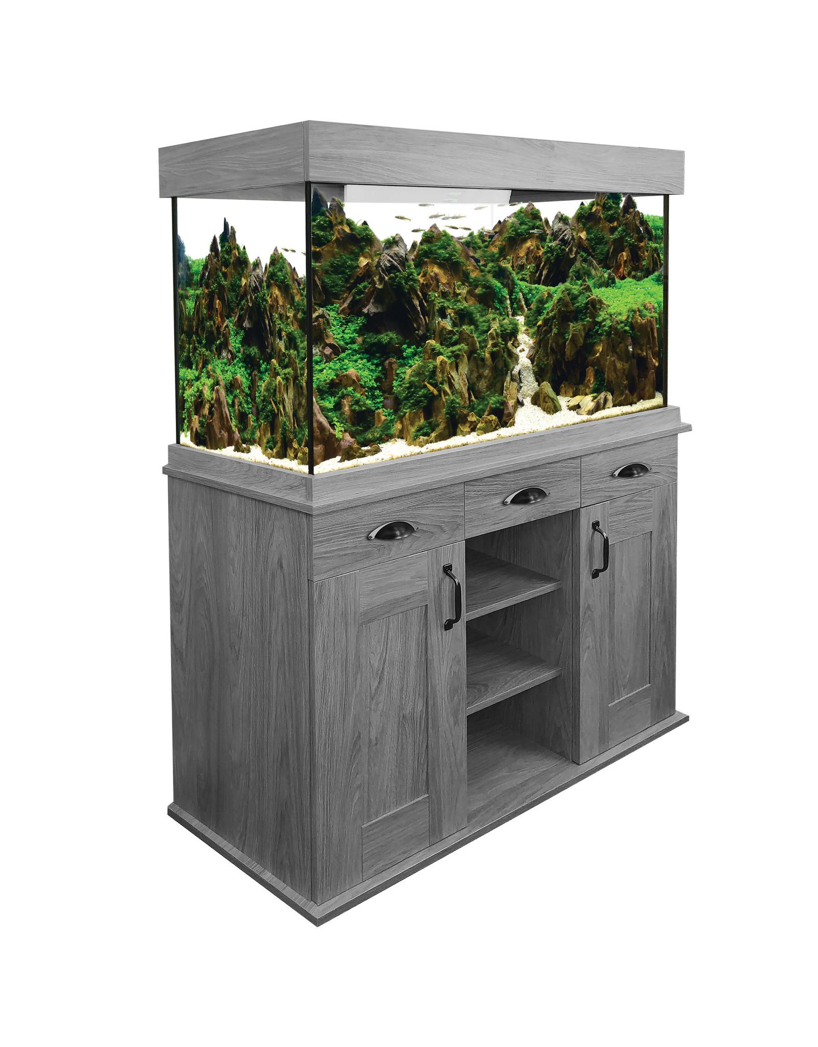 Fluval Fluval Shaker Grey Oak Aquarium Set 252L