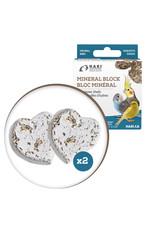 HARI HARI Mineral Block for Small Birds Oyster Shells 40g 2 pack