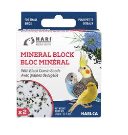HARI HARI Mineral Block for Small Birds Black Cumin Seeds 35g 2 pack