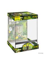Exo Terra Tree Frog Terrarium - Advanced Amphibian Habitat Small/Tall 45Lx45Wx60Hcm (18x18x24in)