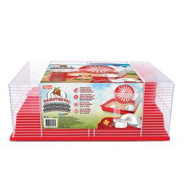 Living World Living World Hamsterval Cage - Red